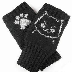 Dar's Mad Cat Handwarmers