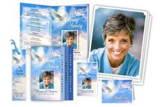 Amazing and Beautiful Funeral Program Templates Created from Word courtesy of The Funeral Program Site. http://www.funeralprogram-site.com