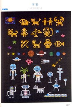 Master Makoto Oozu Collection 02 Cross Stitch by MeMeCraf...