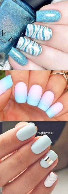 Looking for some new fun designs for summer nails? Check out our favorite nail art designs and don't forget to choose your favorite! #summernailart