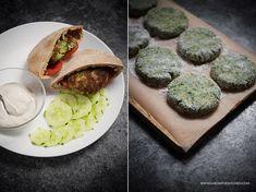 Przepis na falafel. Falafele - kotlety z ciecierzycy. Jak zrobić falafel z ciecierzycy z puszki? Domowe kotlety z ciecierzycy- wegański obiad.