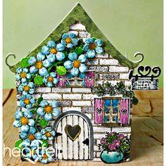 Heartfelt Creations - Wildwood Cottage Luminaire Project