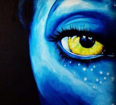 Acrylic painting on canvas  Avatar Artist: Johanna Joona Bergström