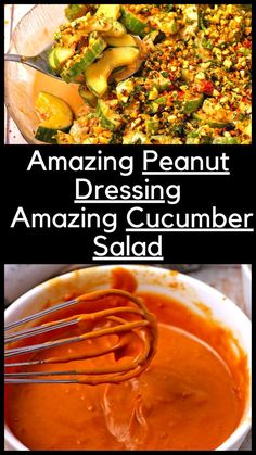 Are you craving an easy side salad with simple ingredients and loads of flavors? Ready to shake things up? One taste of this spicy cucumber salad with our healthy vegan peanut dressing and you'll be replacing the salad plates with the big guys. This easy salad is just so yummy it makes you think twice about cucumber salads.