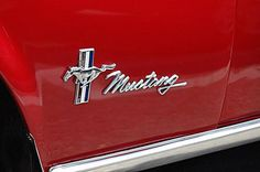 1968 Ford Mustang Photo Gallery: 1968 Ford Mustang Script Lettering