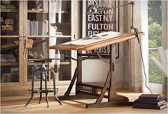 Waanzinnige architectentafel gebaseerd op model uit de jaren 20 Roomed | roomed.nl