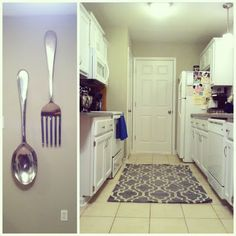 Bake it. Create it. Love it.: Stick a (4 ft.) fork in it, this kitchen renovation is DONE!