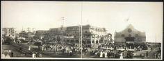 Redondo Beach pier area circa 1904.