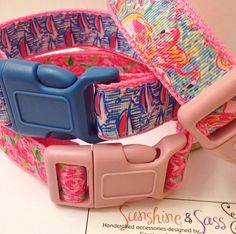 Lilly Pulitzer Inspired adjustable dog collars in Peel and Eat, Red Right Return (RRR) and HPFI Pet Accessories, Dog Toys, Cat Toys, Pet Tricks Diy Cat Toys, Dog Hacks, Pet Collars, Dog Accessories, Dog Supplies, Dog Mom, Puppy Love, Lilly Pulitzer, Fur Babies