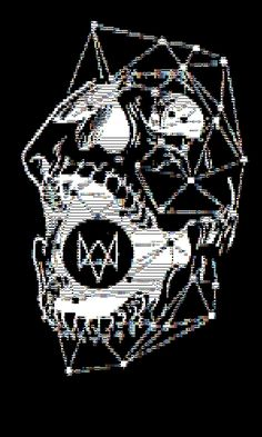 dedsec | ASCII art re envisioning of the dedsec group from Watch Dogs.