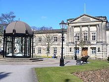 Harrogate - Wikipedia, the free encyclopedia North Yorkshire, Town Hall, Wonderful Places, This Is Us, England, Mansions, House Styles, Beautiful, Free