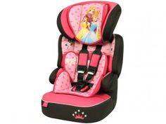 Cadeira para Auto Disney Princesas Beline - Regulável para Crianças de até 36Kg