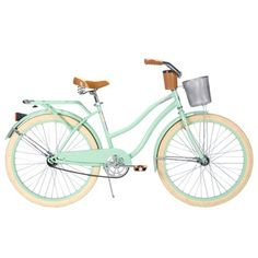 Huffy Women's Deluxe Cruiser Bike! Want this in cherry red!!