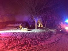 A large horse barn catches fire in Augusta KANSAS.  Crews were called to Palmer Ranch at around 11:00 p.m. Sunday.