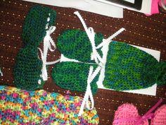 Crochet March Infant Green Baby Set 2016