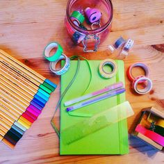 Yellow Feather Blog bullet journal supplies