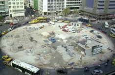 Η ιστορία της Πλατείας Ομονοίας.. Ένα στολίδι που χάθηκε στη σκόνη Times Square, Travel, Viajes, Destinations, Traveling, Trips