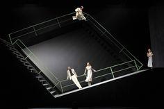 """Olaf Altmanns set design for """"Gespenster"""" by Ibsen, Dresden"""