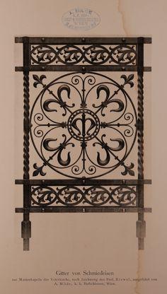 Schmiedeeisernes Gitter iron gate