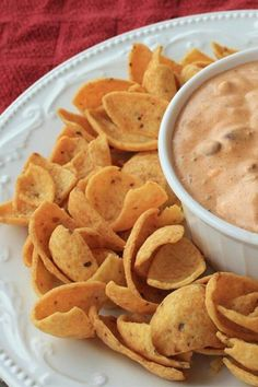 "Chili Dip | ""This is the easiest tastiest dip out there. My husband can even get this one right!!! Perfect and there is never left overs."" #footballrecipes #gamedayrecipes #tailgatingrecipes #superbowlrecipes #superbowlparty #superbowlpartyideas"