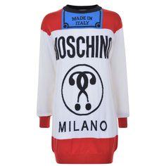 Moschino | Fashion Kills Knitted Dress