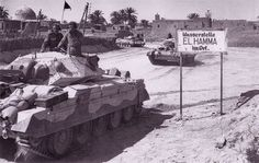 Британский танк Crusader MK.IV.№-Т-44869. 7th.Divizion Acorazada