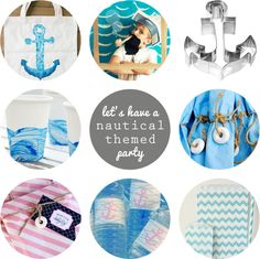 Let's have a Nautical Themed Party