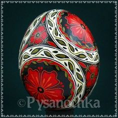 Real Ukrainian Pysanky. Chicken Pysanka. Hand made HQ from Roman. Easter Egg:
