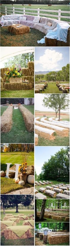 25 Chic Rustic Hay Bale Decoration Ideas for Country Weddings Rustic Weddings Rustic Wedding Flowers, Country Wedding Dresses, Country Weddings, Rustic Weddings, Wedding Country, Dress Wedding, Hay Bale Wedding, Farm Wedding, Wedding Bells