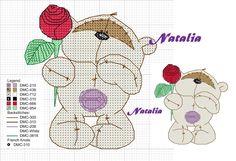 Cross Stitch Heart, Cross Stitch Animals, Cross Stitch Designs, Cross Stitch Patterns, Cross Stitching, Cross Stitch Embroidery, Fizzy Moon, Cross Stitch Freebies, Baby Owls