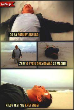 Cytaty Filmowe z Filmu Dzień Świra :: HELTER #dzieńświra #adaśmiałczyński #młodość #śmieszne #cytaty #film #kino #cytatyfilmowe #popolsku #helter #polskie