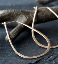 Horseshoe Gold Hoop Earrings by Alexis Russell on Scoutmob Shoppe Gold Hoop Earrings, Horseshoe Earrings, Gold Hoops, Fashion Accessories, Fashion Jewelry, Jewelry Accessories, Metal Jewelry, Silver Jewelry, Jewelry Box