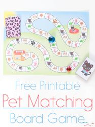 The perfect game for Littlest Pet Shop loving kids! This free printable pet matching board game is so much fun! You are in the right place about handmade Board Games Here we offer you the most beautif Preschool Learning Activities, Free Preschool, Fun Activities For Kids, Kids Learning, Kindergarten Lessons, Learning Games, Printable Board Games, Free Printable, Board Games For Kids