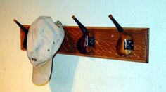 "Hat Rack - from ""25 New Uses for your Old Golf Clubs"""