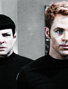 Star Trek - Spock & Kirk
