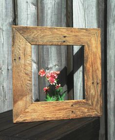 Pallet Mirror - 20+ DIY Pallet Ideas To Be In Your Next To Do List - DIY & Crafts