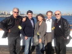 Bruce Boxleitner, Mira Furlan, Raphael Sbarge, and Tony Amendola from the upcoming Lantern City. Great to see Bruce and Mira, both from Babylon 5, back together.