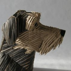 "*Paper Sculpture - ""Ayla"" by Fabián Di Luciano (Recycled Cardboard)"