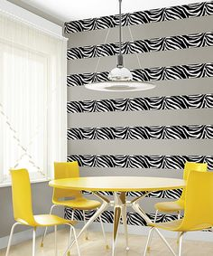 Go Wild Stripe WallPops Wall Decal Nursery Pinterest Wall - Zebra stripe wall decals