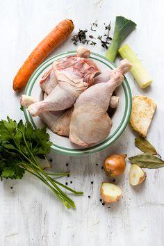Leckere Hühnersuppe selbstgemacht - geht schnell, tut gut!