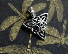 Vintage Sterling Silver Triquetra Pendant - Edit Listing - Etsy