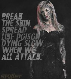 Back From The Death Skillet Lyrics, Christian Music Quotes, Andy Mineo, Francesca Battistelli, Jen Ledger, Skillet Band, Christian Rock Bands, Best Rock, Cool Bands