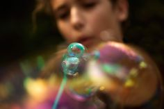 Blurry bubbles