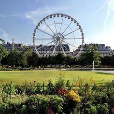 Jardin des Tuileries in Paris, Île-de-France