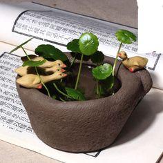 Bonito pouco de água pato de cerâmica Vasos de Flores vasos de Área de Trabalho Criativo pequeno pato em Pote para flores de Home & Garden no AliExpress.com | Alibaba Group