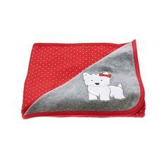 Baby True Red Westie Blanket by Gymboree