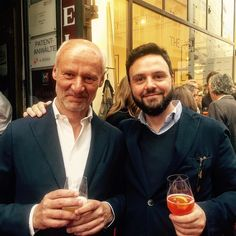 Me and Roy at the opening of #slowear store in Vienna by mauriziopoletto #tailrs