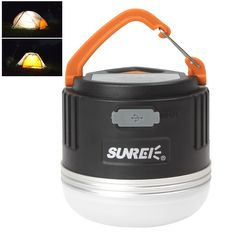 64.19$  Buy here - http://alibtv.worldwells.pw/go.php?t=32314296853 - Super Bright Waterproof SUNREE CC2 XP-G R5 5W LED Camping Lantern for Outdoors Camp USB Rechargeable Lamp with 6600mAH Battery
