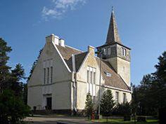 Ulkokuva Pattijoen kirkosta