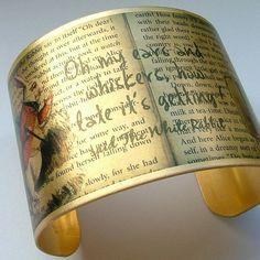 Items similar to Alice In Wonderland Jewelry 'Drink Me' Literary Quote Brass Cuff Bracelet on Etsy Adventures In Wonderland, Alice In Wonderland, Word Wa, Brass Cuff, Were All Mad Here, Disney Belle, Literary Quotes, Disney Jewelry, Fancy